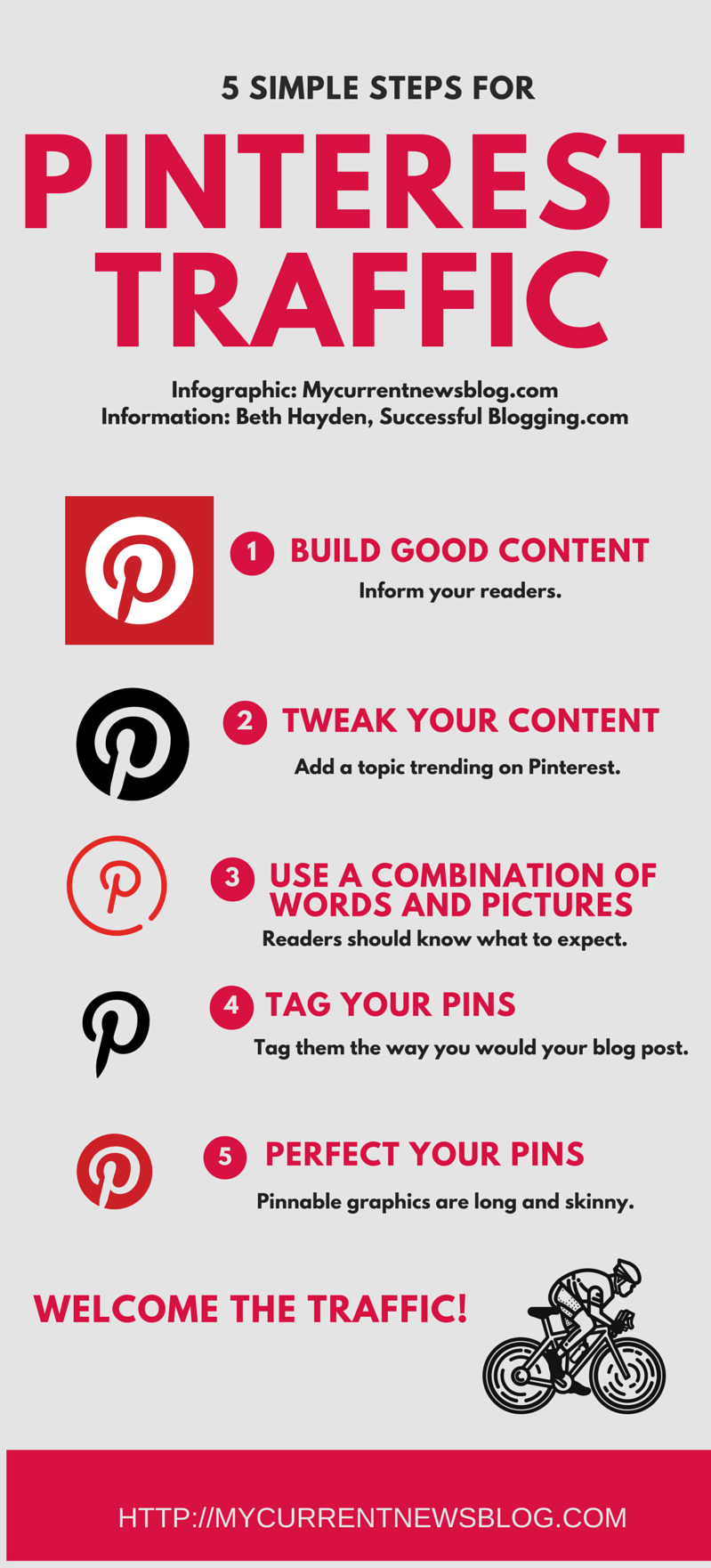 Get massive #blog traffic using #Pinterest. #bloggingtips