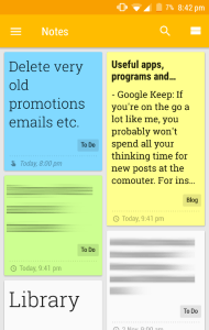 Google Keep technology
