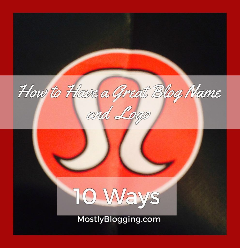 Website Name and Logo help increase blog traffic