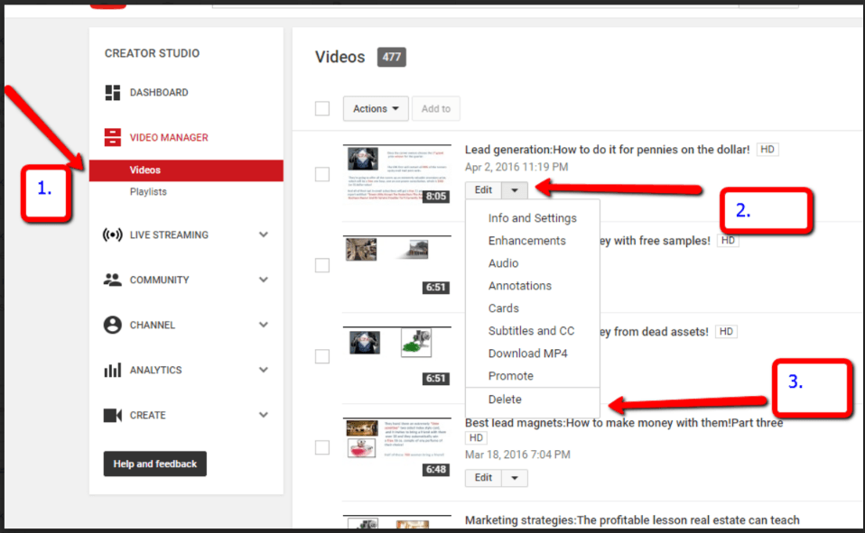 YouTube brings blog traffic