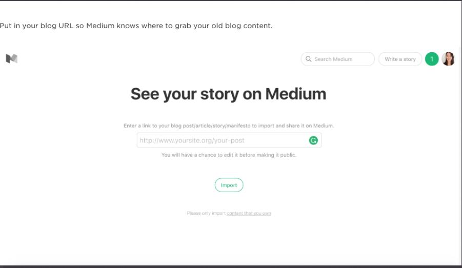 Medium brings #blogger traffic