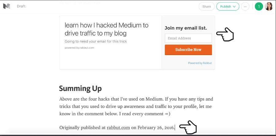 Medium brings #bloggers traffic